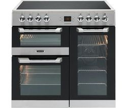 LEISURE Cuisinemaster CS90C530X Electric Ceramic Range Cooker - Stainless Steel Best Price, Cheapest Prices