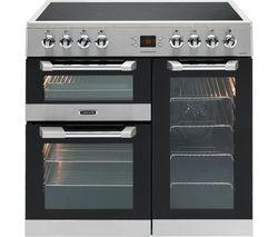 LEISURE Cuisinemaster CS90C530X Electric Ceramic Range Cooker - Stainless Steel