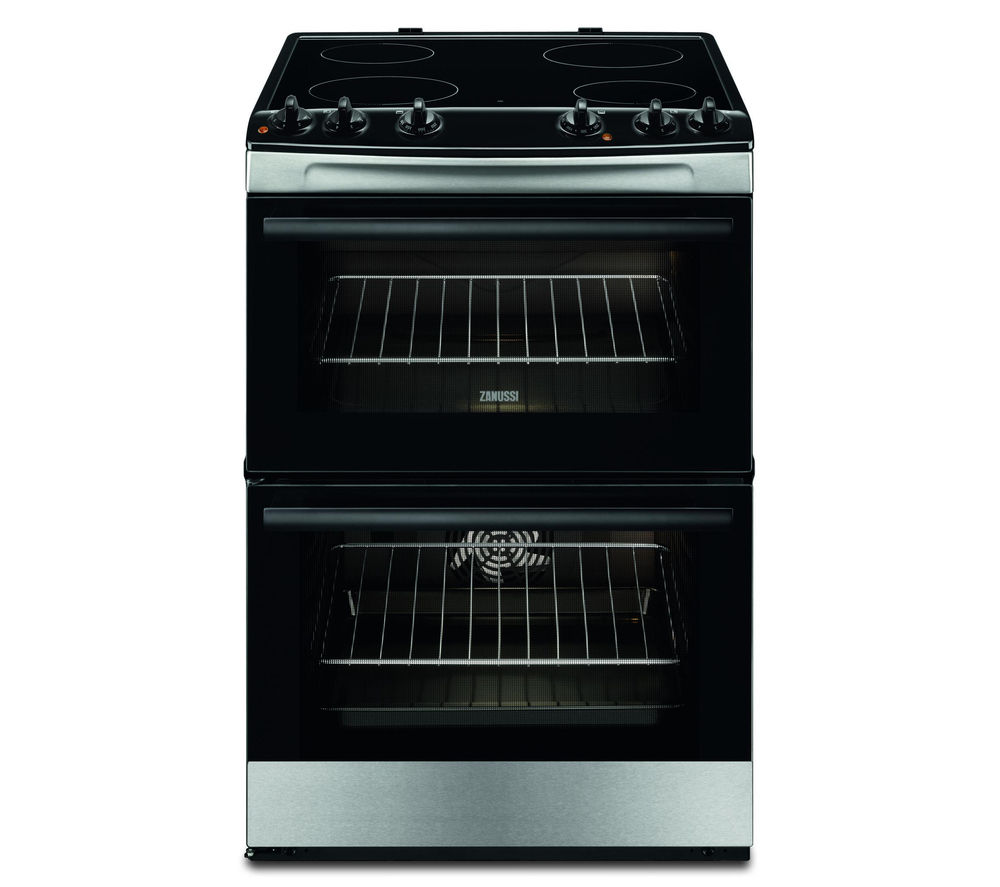 ZANUSSI ZCV660CTX 60 cm Electric Cooker - Stainless Steel