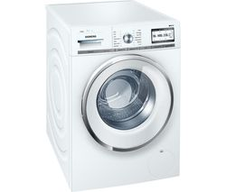 SIEMENS iQ700 WMH4Y890GB Smart Washing Machine - White
