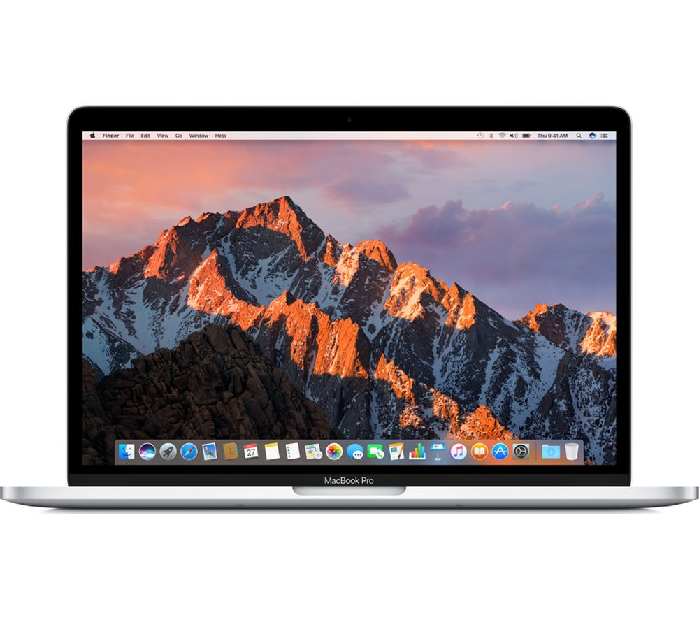 "Image of APPLE MacBook Pro 13"" with Retina Display & Touch Bar - Silver, Silver"