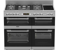 LEISURE Cuisinemaster CS110F722X Dual Fuel Range Cooker - Stainless Steel