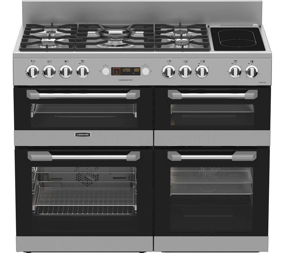 Compare retail prices of Leisure Cuisinemaster CS110F722X Dual Fuel Range Cooker to get the best deal online