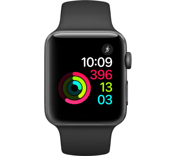 buy apple watch series 2 42 mm free delivery currys. Black Bedroom Furniture Sets. Home Design Ideas