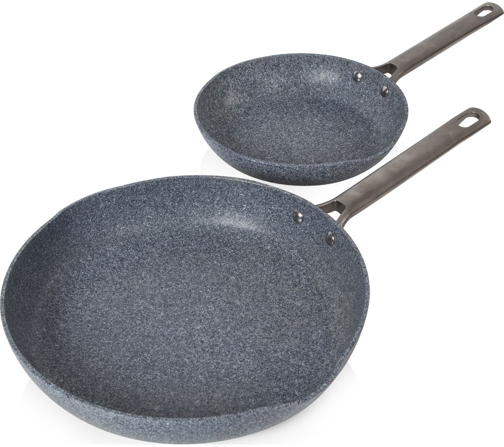 TOWER Granitex T90980 2-piece Non-stick Frying Pan Set - Grey