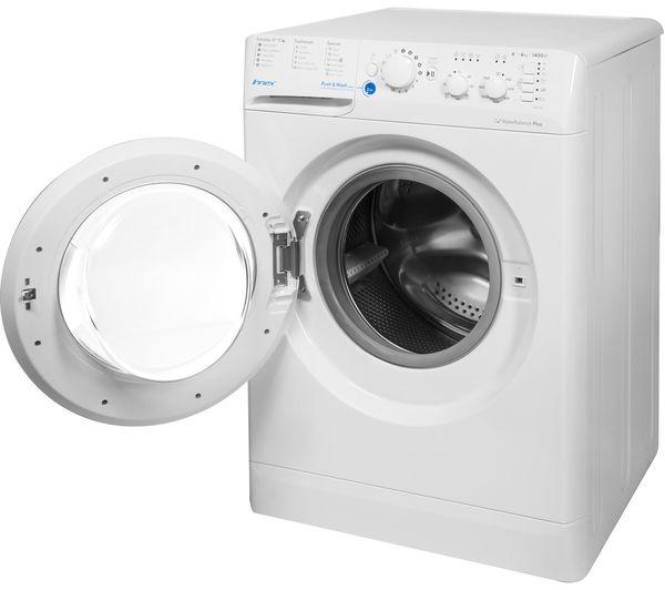 buy indesit bwc 61452 w 6 kg 1400 spin washing machine. Black Bedroom Furniture Sets. Home Design Ideas