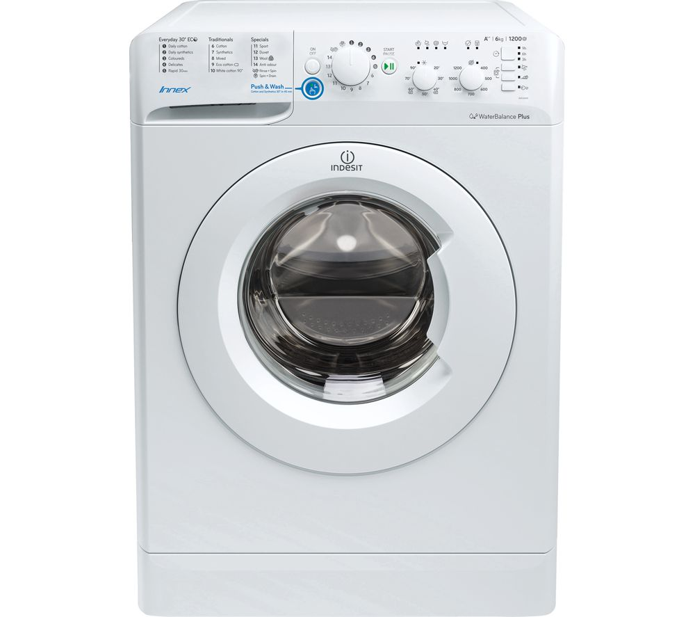 INDESIT BWC 61452 W 6 kg 1400 Spin Washing Machine - White