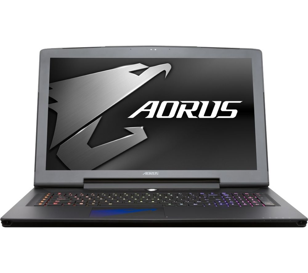"AORUS X7 V6-CF2 17.3"" Gaming Laptop - Black + Office 365 Personal - 1 year for 1 user + LiveSafe Premium - 1 user / unlimited devices for 1 year"