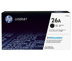 HP 26A Original LaserJet Black Toner Cartridge