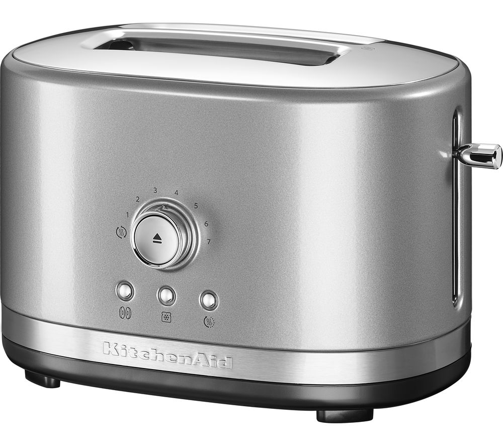 Buy Kitchenaid 5kmt2116bcu 2 Slice Toaster Silver Free