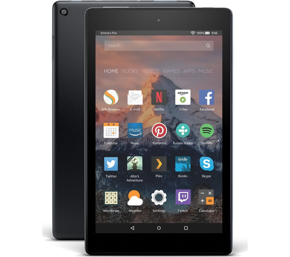 Cheapest price of Amazon Fire HD 8 Tablet with Alexa -2017 32GB in new is £99.99
