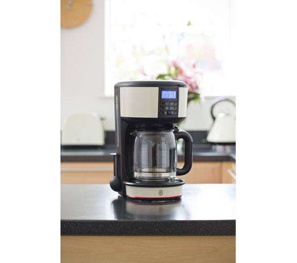 Rus Hobbs Legacy 20683 Fast Brew Filter Coffee Machine Cream
