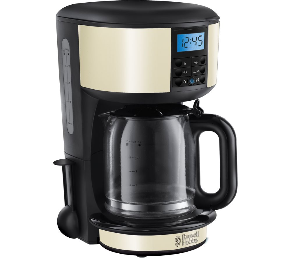 RUSSELL HOBBS Legacy 20683 Fast Brew Filter Coffee Machine - Cream