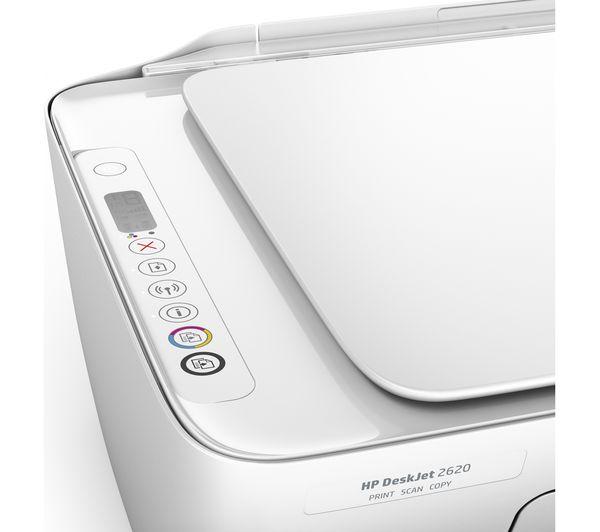 HP DeskJet 2620 All-in-One Wireless Inkjet Printer
