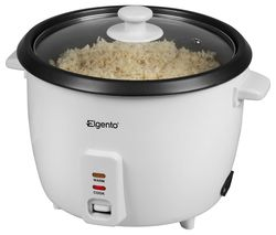 ELGENTO E19013 Rice Cooker - White