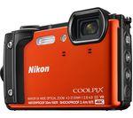 NIKON COOLPIX W300 Tough Compact Camera - Orange
