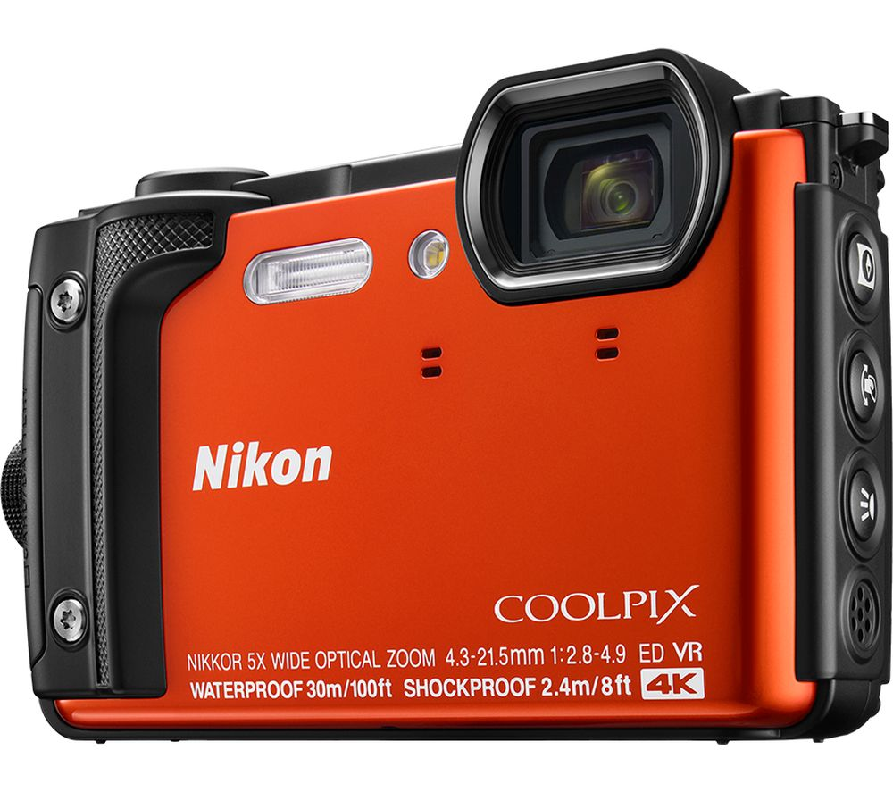Click to view product details and reviews for Nikon Coolpix W300 Tough Compact Camera Orange Orange.