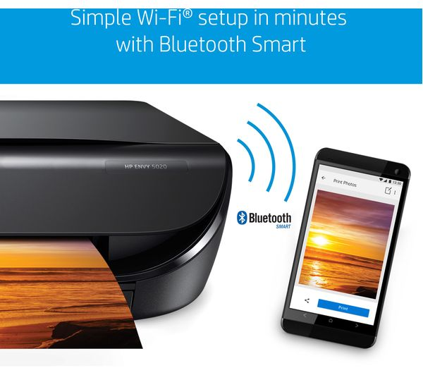 M2U91B#BHC - HP ENVY 5020 Wireless All in One Printer