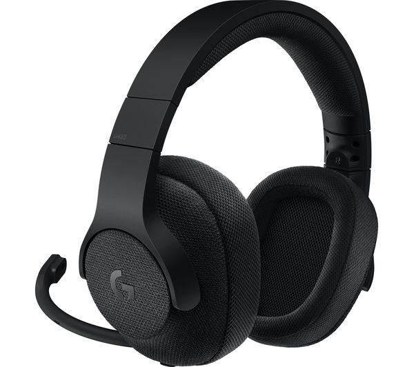 LOGITECH G433 7 1 Gaming Headset - Black