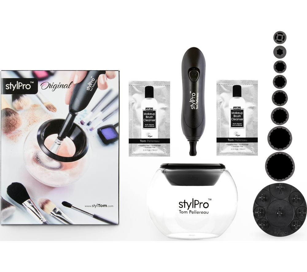 STYLPRO Makeup Brush Cleaner & Dryer - Black