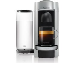 NESPRESSO by Magimix Vertuo Plus M600 Coffee Machine - Silver