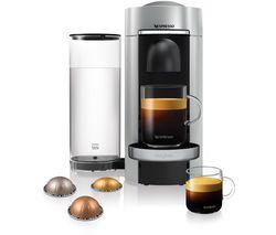 NESPRESSO by Magimix Vertuo Plus M600 Coffee Machine - Silver