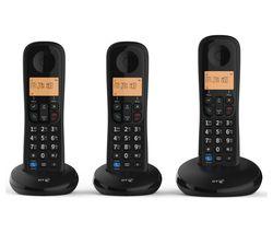 BT Everyday Cordless Phone - Triple Handsets