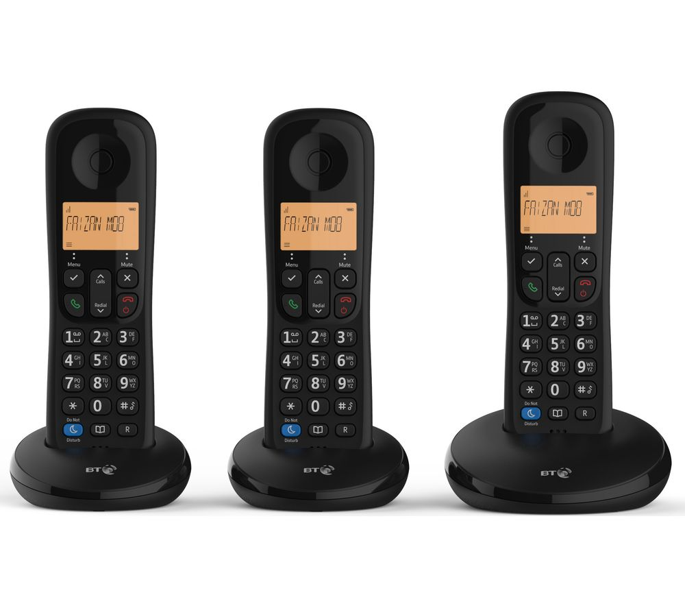 Bt Everyday Cordless Phone Triple Handsets