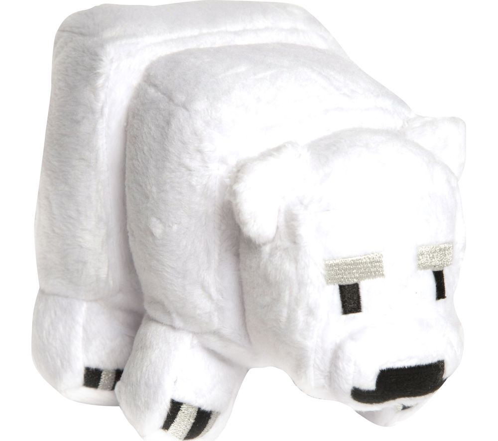 Compare retail prices of Minecraft Baby Polar Bear Plush Toy - Small to get the best deal online