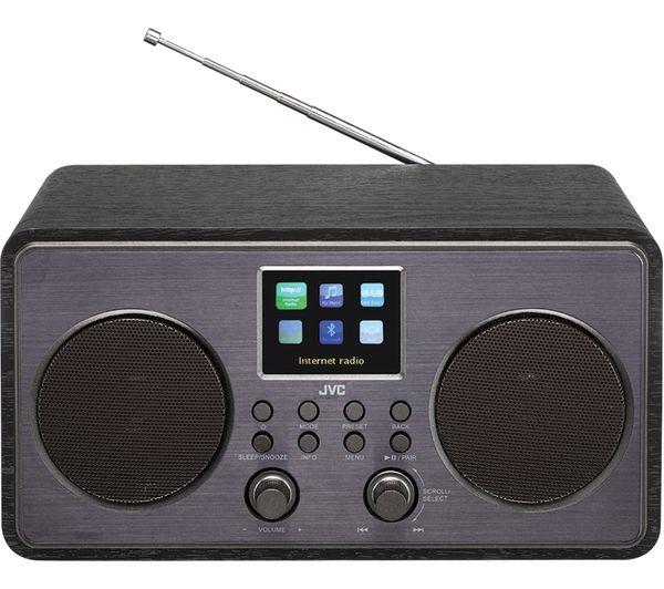 JVC RA-D58B Smart Bluetooth Radio - Black