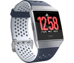 FITBIT Ionic Adidas Edition - Ink Blue & Silver Grey