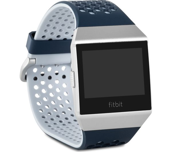 fitbit ionic adidas edition smartwatch with heart rate monitor