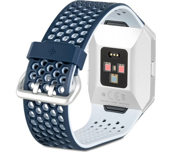 Persona a cargo Catedral magia  Buy FITBIT Ionic Adidas Edition - Ink Blue & Silver Grey | Free Delivery |  Currys