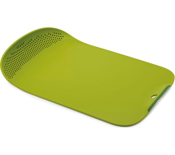 Image of JOSEPH JOSEPH Chop & Drain Chopping Board - Green