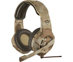 TRUST GXT 310D Radius Gaming Headset - Desert Camouflage