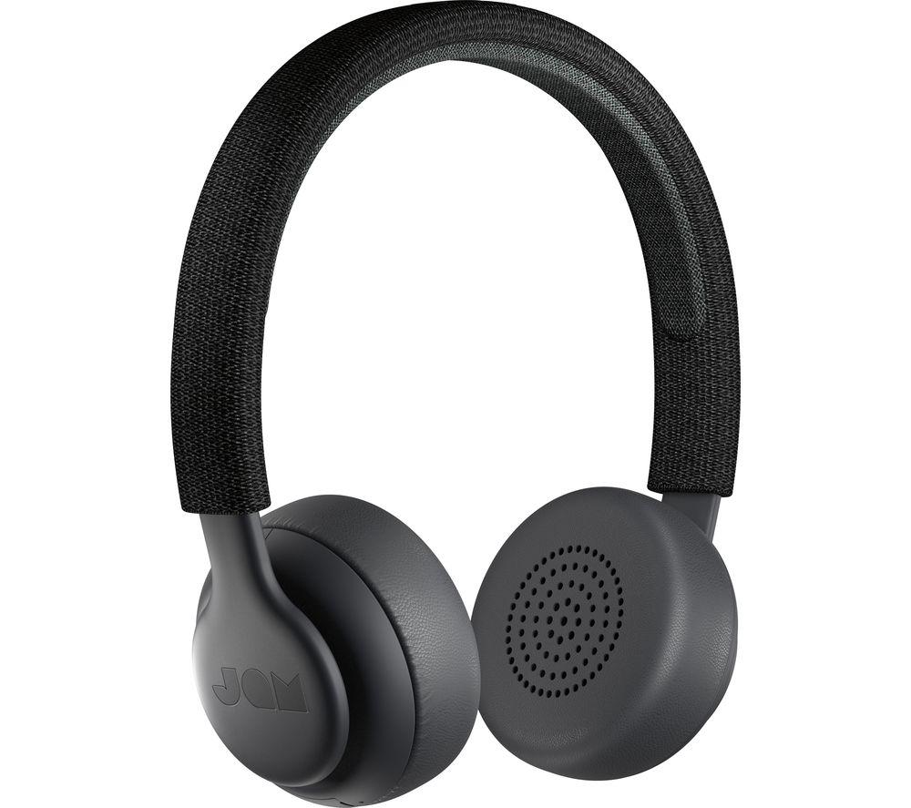 JAM Been There HX-HP202BK Wireless Bluetooth Headphones - Black