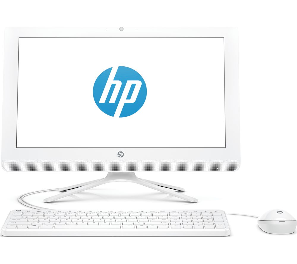 "HP 20-c402na 19.5"" Intel® Celeron® All-in-One PC - 1 TB HDD, White + Office 365 Personal - 1 year for 1 user"