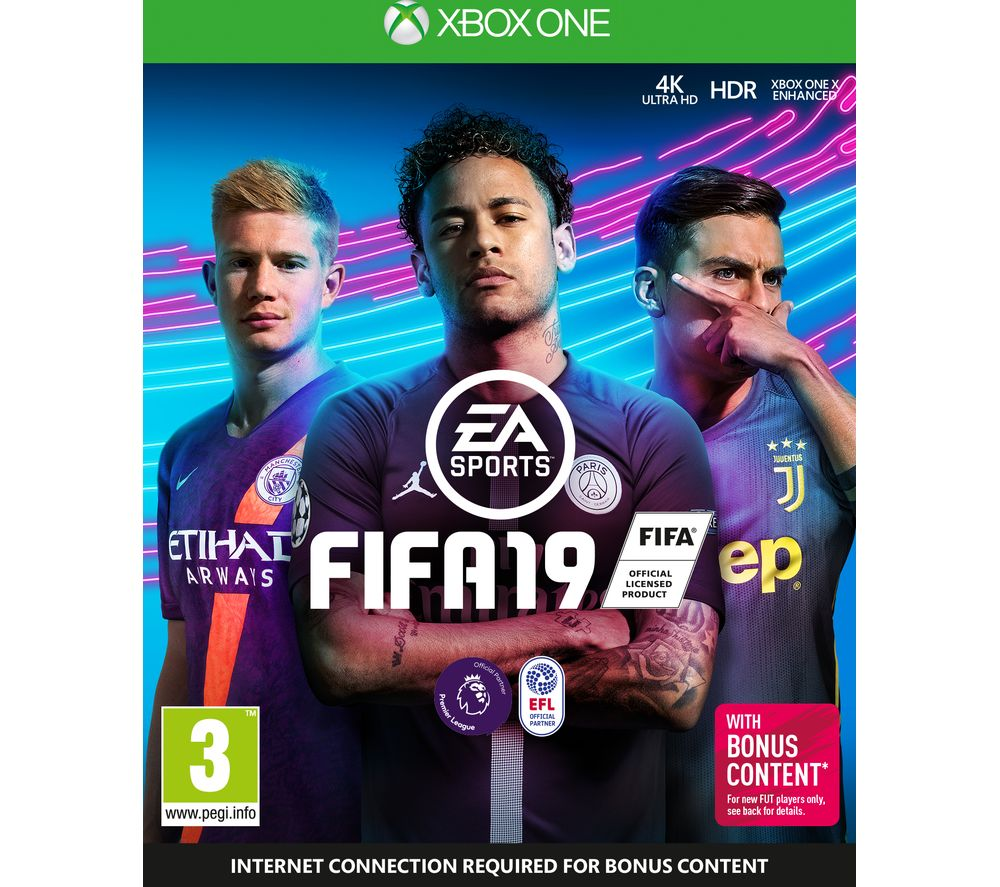 Image of XBOX ONE FIFA 19