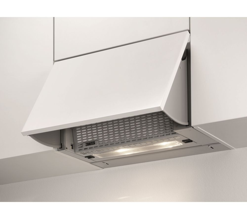 ZANUSSI ZHI612G Integrated Cooker Hood – Grey, Grey