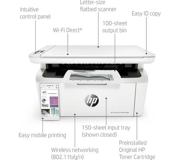 How to connect hp laserjet printer to wifi