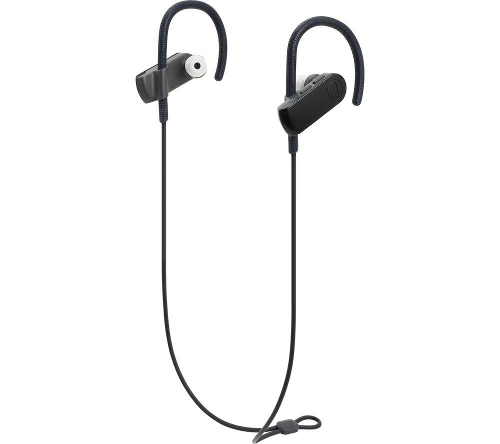 AUDIO TECHNICA SonicSport ATH-SPORT50BTBK Wireless Bluetooth Headphones - Black