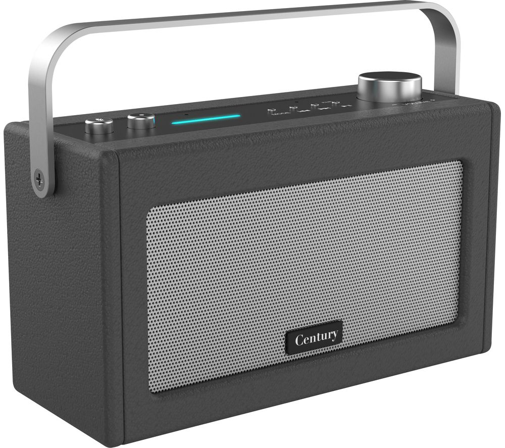 Image of I-BOX Century Wireless Voice Controlled Speaker - Charcoal, Charcoal