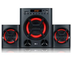 XBOOM LK72B Bluetooth Traditional Hi-Fi System - Black