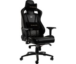 Epic Gaming Chair - Black & Gold