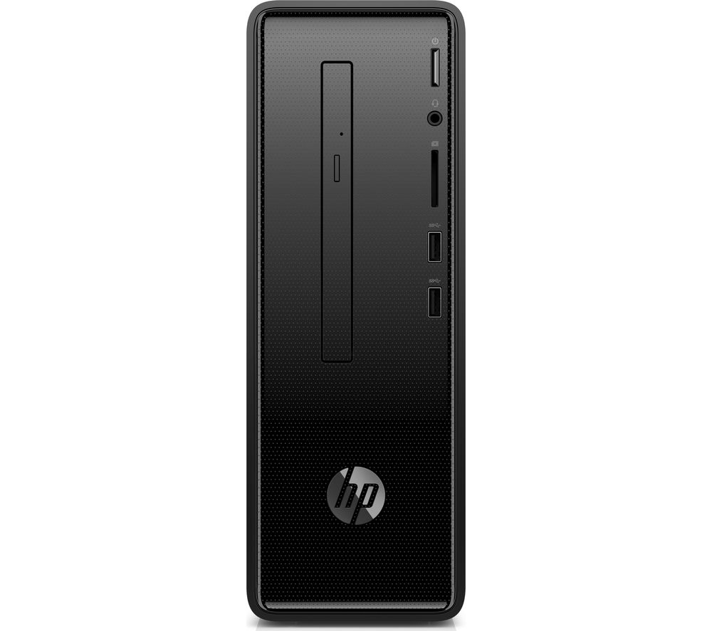 HP 290-a0006 Desktop PC - AMD A6, 1 TB HDD, Black