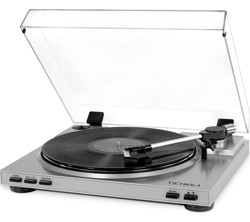 Image of VPRO-3100 Belt Drive Turntable - Silver, Silver