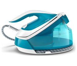PHILIPS PerfectCare Compact Plus GC7920/26 Steam Generator Iron - Blue