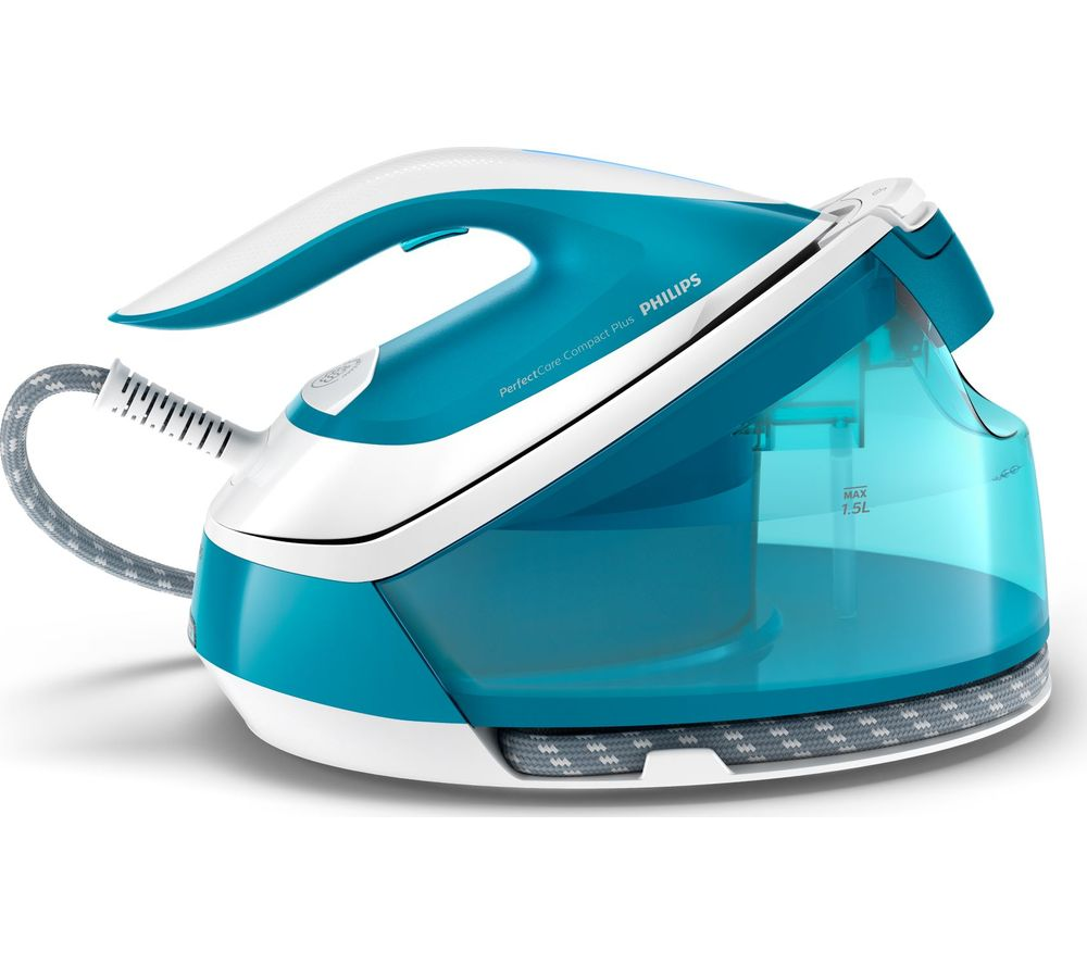 PerfectCare Compact Plus GC7920/26 Steam Generator Iron - Blue
