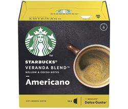 Dolce Gusto Veranda Blend Americano Coffee Pods - Pack of 12