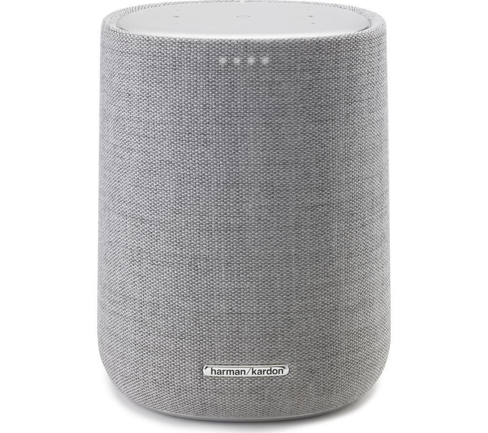 Image of Harman Kardon Citation One Bluetooth Multi-room Speaker with Google Assistant - Grey, Grey